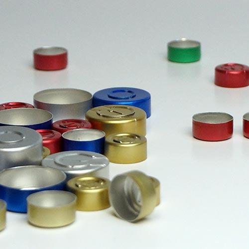 Alukappen für Injektionsflaschen
